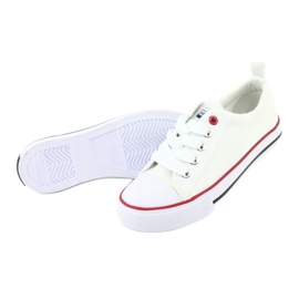 American Club Hvide amerikanske LH25 Knotede sneakers 5
