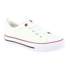 American Club Hvide amerikanske LH25 Knotede sneakers 2