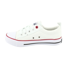 American Club Hvide amerikanske LH25 Knotede sneakers 3