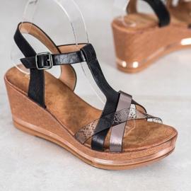 Evento Elegante kile sandaler sort 1