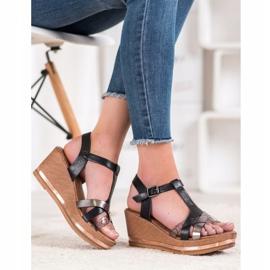 Evento Elegante kile sandaler sort 4