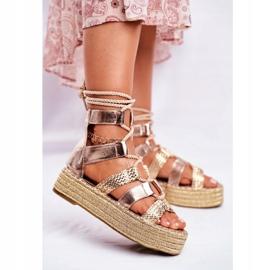 SEA Espadrilles Guld Eromica Kvinder sandaler 2