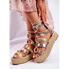 SEA Espadrilles Guld Eromica Kvinder sandaler 6