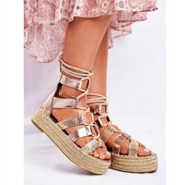 SEA Espadrilles Guld Eromica Kvinder sandaler 1
