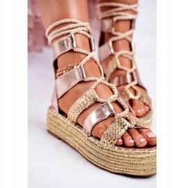 SEA Espadrilles Guld Eromica Kvinder sandaler 4