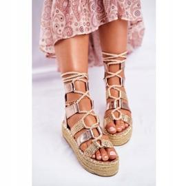 SEA Espadrilles Guld Eromica Kvinder sandaler 3