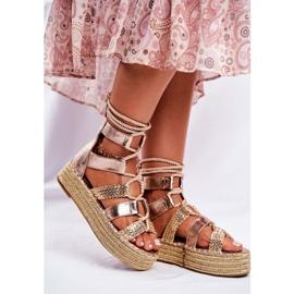SEA Espadrilles Guld Eromica Kvinder sandaler 5