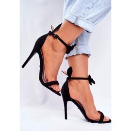 SEA Kvinders sandaler på høje hæle Bunny Ører sort honning kanin 3
