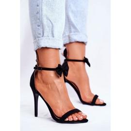 SEA Kvinders sandaler på høje hæle Bunny Ører sort honning kanin 1