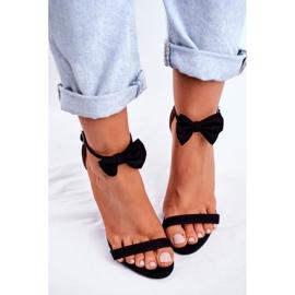 SEA Kvinders sandaler på høje hæle Bunny Ører sort honning kanin 4