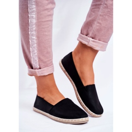 NEWS Sort glidende espadrilles 2
