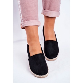 NEWS Sort glidende espadrilles 4