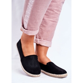 NEWS Sort glidende espadrilles 1