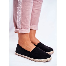 NEWS Sort glidende espadrilles 5