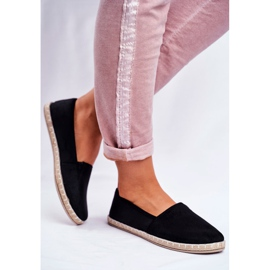 NEWS Sort glidende espadrilles 3