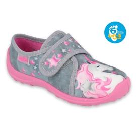 Befado børnesko 560X117 pink grå 1
