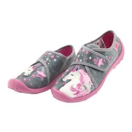 Befado børnesko 560X117 pink grå 3