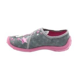 Befado børnesko 560X117 pink grå 2