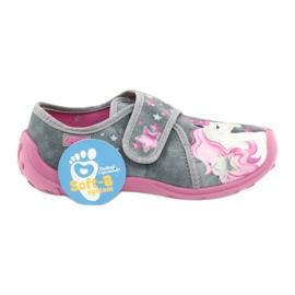 Befado børnesko 560X117 pink grå 6