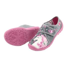 Befado børnesko 560X117 pink grå 4