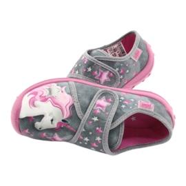 Befado børnesko 560X117 pink grå 5