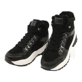 Komfortable sportsstøvler Lee Cooper LCJL-20-31-152 sort 2
