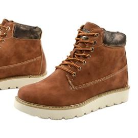 Støvler med kamelfarvet Haireino brun 1