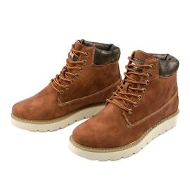 Støvler med kamelfarvet Haireino brun 2