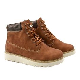 Støvler med kamelfarvet Haireino brun 3