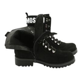 Evento Tømmerstøvler High Black 9BT35-1331 Black Popsi sort 6