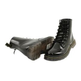 Sorte laklæderstøvler Evento 20DZ23-3216 Marita 5