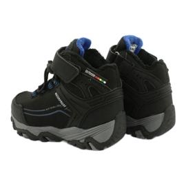 Softshell støvler med American Club membran sort blå 4