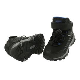 Softshell støvler med American Club membran sort blå 3