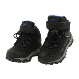 Softshell støvler med American Club membran sort blå 2