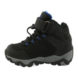 Softshell støvler med American Club membran sort blå 1