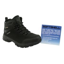 American Club Amerikanske trekking Softshell støvler med en membran sort 5