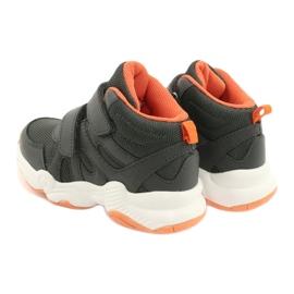 Befado børnesko 516X050 orange grå 5