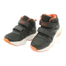 Befado børnesko 516X050 orange grå 3