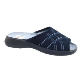 Befado kvinders sko pu 442D147 blå 1