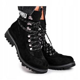 Evento Tømmerstøvler High Black 9BT35-1331 Black Popsi sort 3