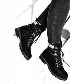 Evento Tømmerstøvler High Black 9BT35-1331 Black Popsi sort 1