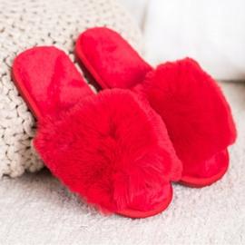 Bona Stilfulde røde hjemmesko 1