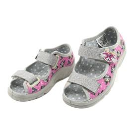 Befado børnesko 969X162 pink sølv 3