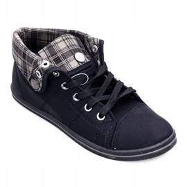 Høje Sneakers Konwers DD52 Sort 1