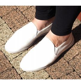 Lycra BL181-2 Hvide Slip-On Sneakers 3