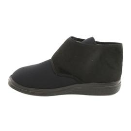 Befado kvinders sko pu 522D002 sort 2