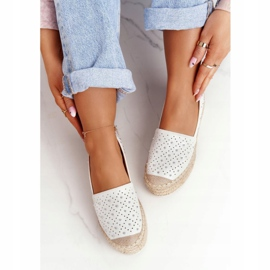 S.Barski Espadrilles On The Straw Platform S. Bararski White hvid 6