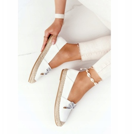 S.Barski Espadrilles On Straw Sole S. Bararski White hvid 4