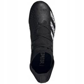 Adidas Predator Freak.3 Fg Junior FY1031 fodboldstøvler sort sort 5