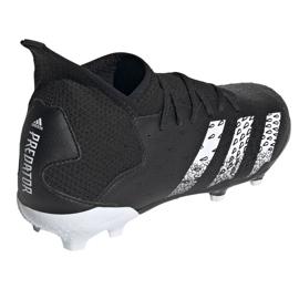 Adidas Predator Freak.3 Fg Junior FY1031 fodboldstøvler sort sort 4